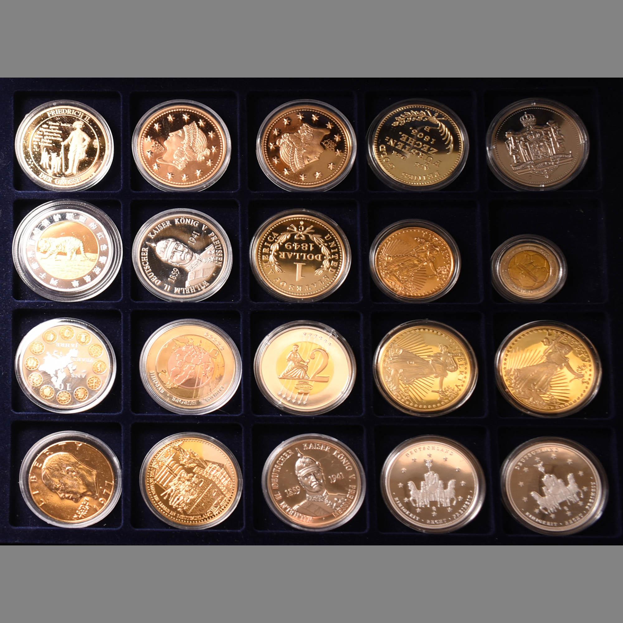 Konvolut Münzen und Medaillen
